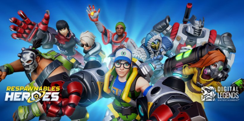 Respawnables Heroes, a fast-paced, mobile-friendly hero shooter, blasts off on iOS