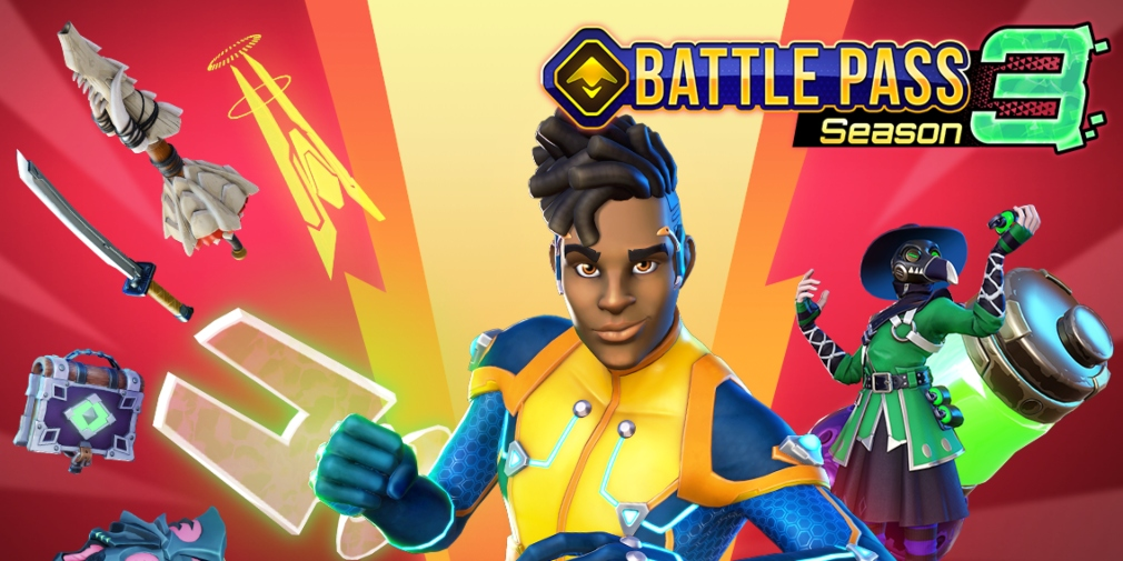 Respawnables Heroes introduces new Hero GL1TCH alongside the third Battle Pass season