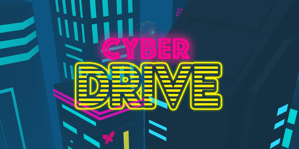Cyber Drive is a neon-infused runner for iOS about darting through layers of flying traffic