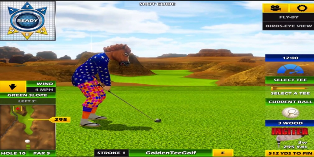 Golden Tee is getting a new course called Rocky Hollow on March 30th
