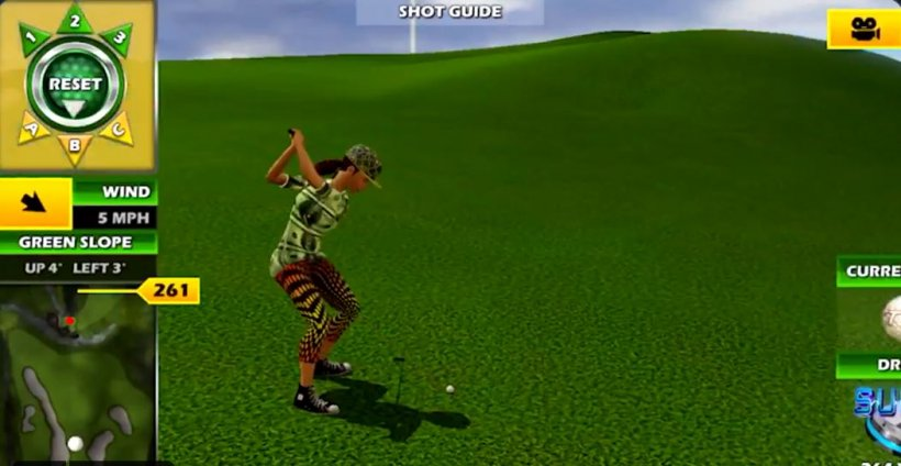 Golden Tee Mobile: Three highly effective super balls to collect