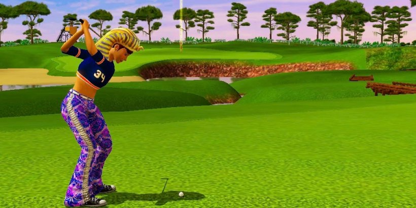 Golden Tee Mobile: Three ways to tackle Crawdad Swamp