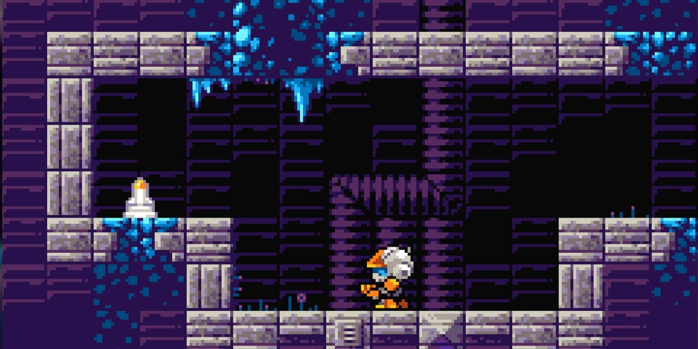 Super Gigadroid is a Metroid inspired side-scrolling shooter that's available now for iOS and Android