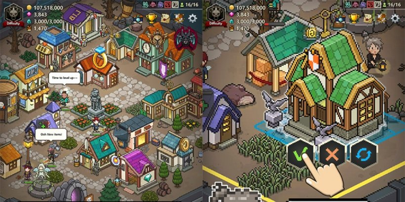 Evil Hunter Tycoon is a town management sim for iOS and Android where  you'll assemble and upgrade a team of Hunters   Articles   Pocket Gamer
