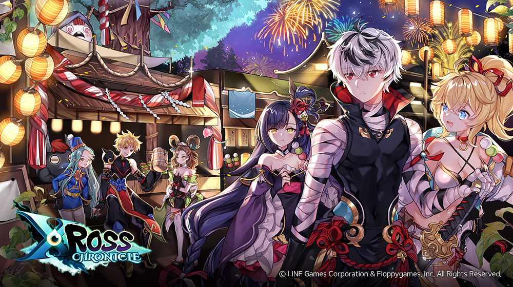 Xross Chronicle is a new Yokai-themed gacha RPG for iOS and Android from the makers of Phantom Chaser