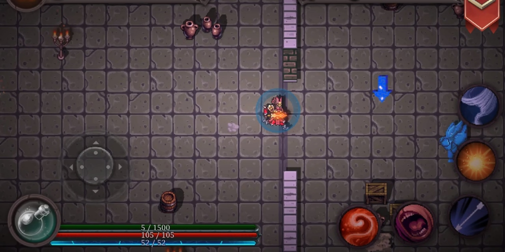 Rogue Depths is a new roguelike for Android with a huge focus on character customisation