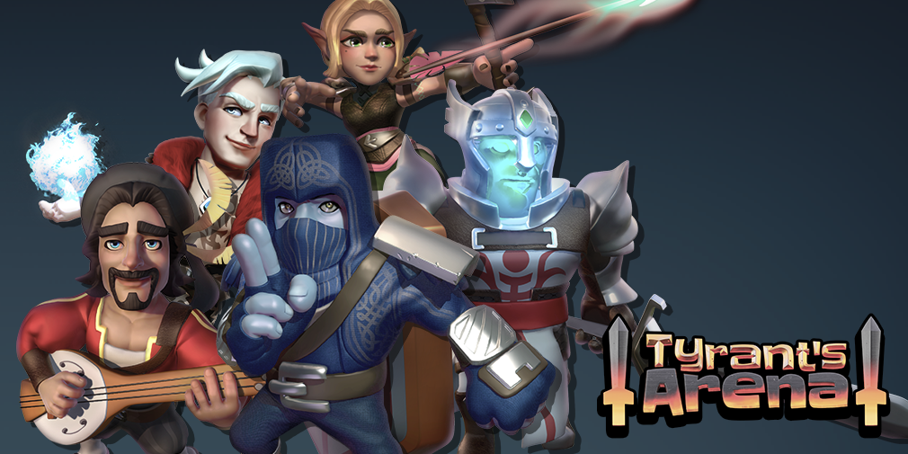 Tyrant's Arena is a fast-paced 3v3 hero battler for iOS and Android