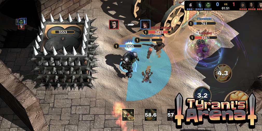 Tyrant's Arena is a fast-paced 3v3 hero battler for iOS and Android |  Articles | Pocket Gamer