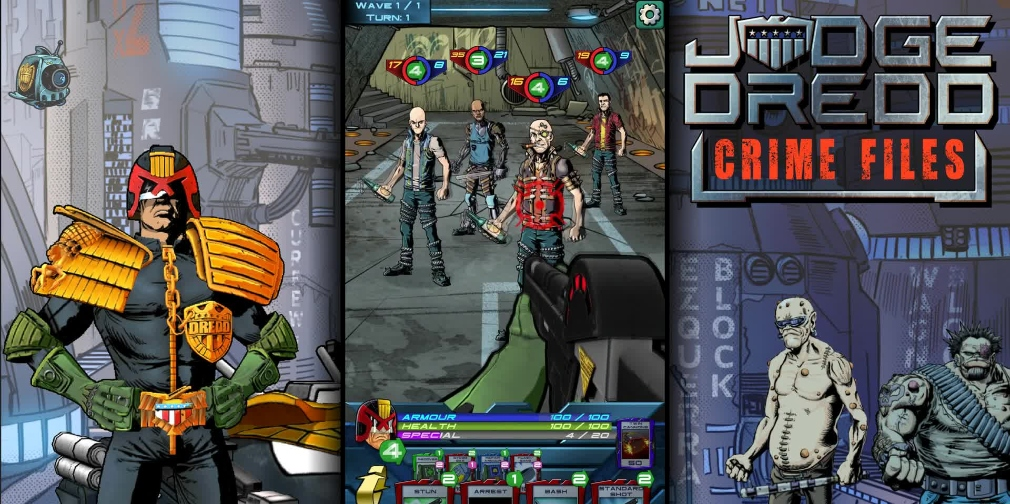 How Judge Dredd: Crime Files set out to be the definitive Dredd game for mobile