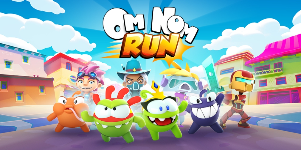 Om Nom: Run has been downloaded 20 million times since it launched earlier this year
