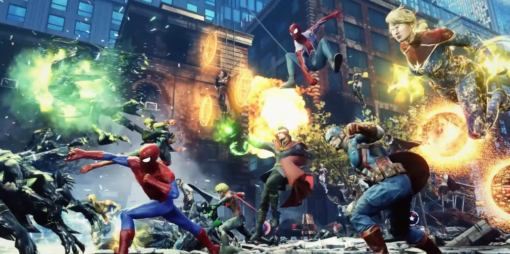 Marvel Future Revolution is a stunning open-world RPG for mobile from Netmarble and Marvel Games