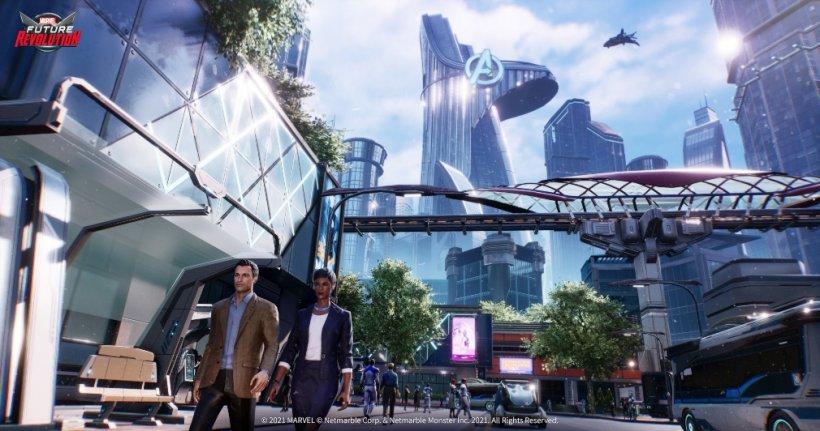 Marvel Future Revolution New Stark City