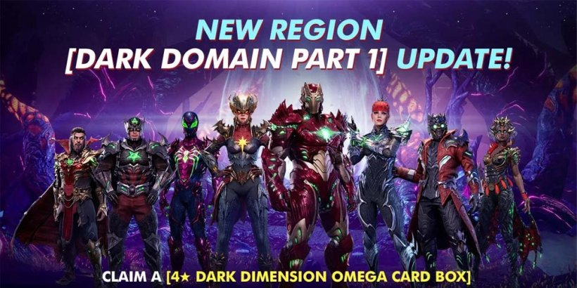 Marvel Future Revolution's first update adds Dormammu and the Dark Domain along with new Blitz content and a level cap increase