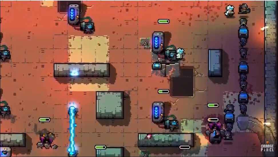 Snake Core, OrangePixel's sci-fi spin on the classic game Snake, is available now for iOS