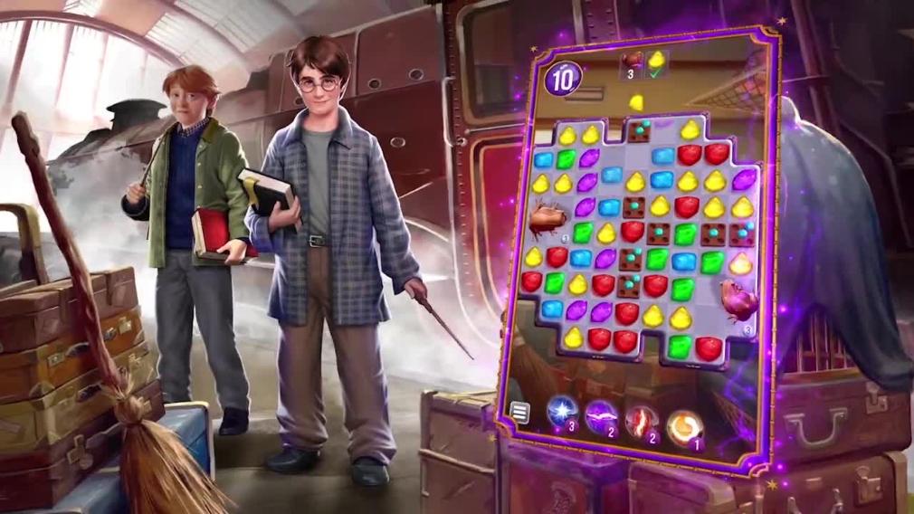 Zynga Unveils Harry Potter: Puzzles & Spells