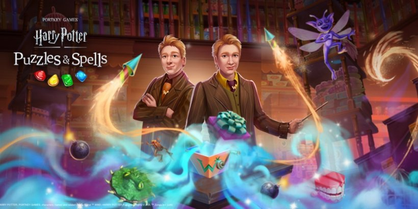 Harry Potter: Puzzles & Spells' newest event, Magical Mischief, is now live in the popular match-3 game