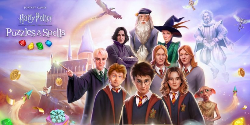 Harry Potter: Puzzles & Spells is celebrating its one-year anniversary with a bunch of in-game events