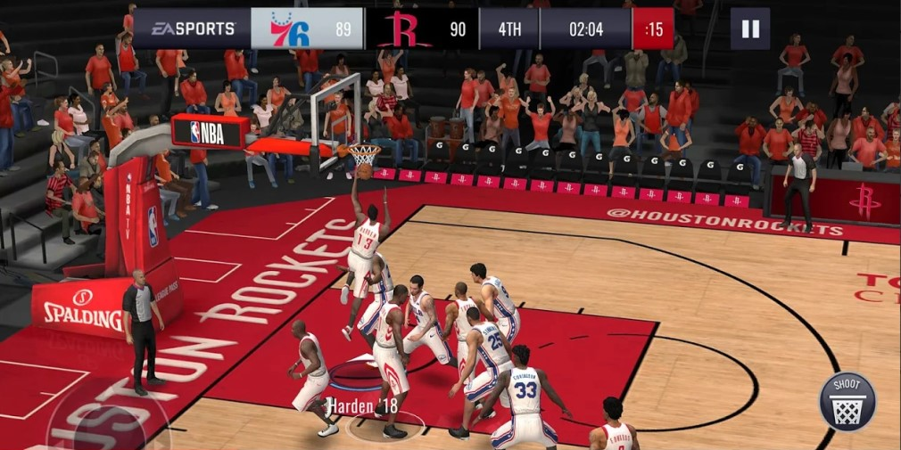 NBA Live Mobile's Pot of Gold update is out now