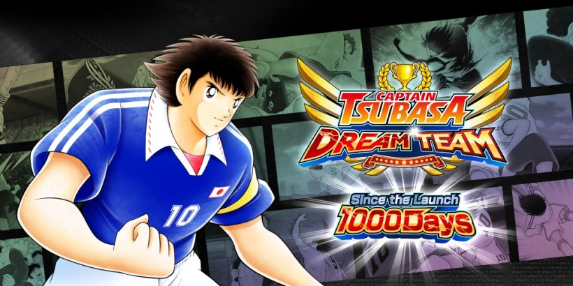 Captain Tsubasa: Dream Team celebrates 1000 days since launch with login bonuses, a story mode, new Transfers and more