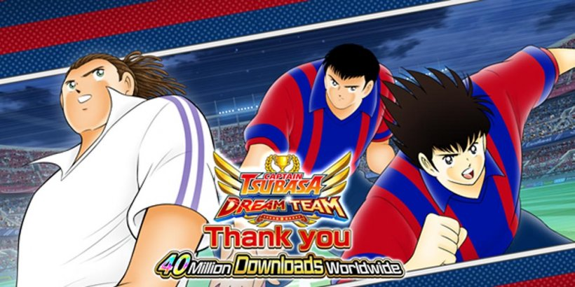 Captain Tsubasa: Dream Team celebrates 40 million downloads with tons of in-game events