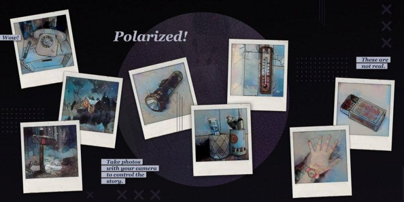 MonkeyBox #1: Polarized is an experimental game for iOS where you'll progress the story by taking pictures