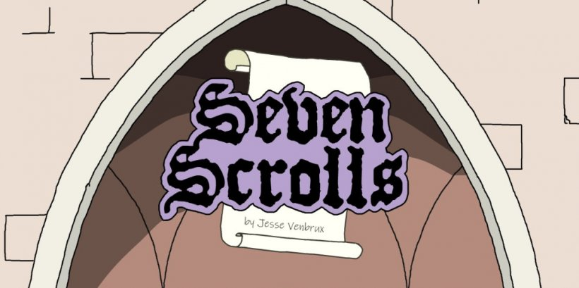 Seven Scrolls is a stylish roguelike puzzler with an inventive spell mechanic