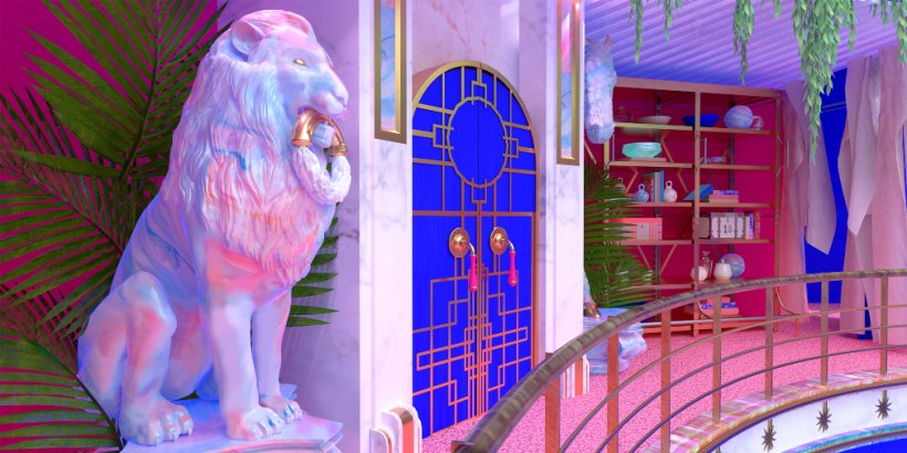 HoloVista is a gorgeous narrative-driven puzzler where you'll explore an opulent, secret-filled mansion