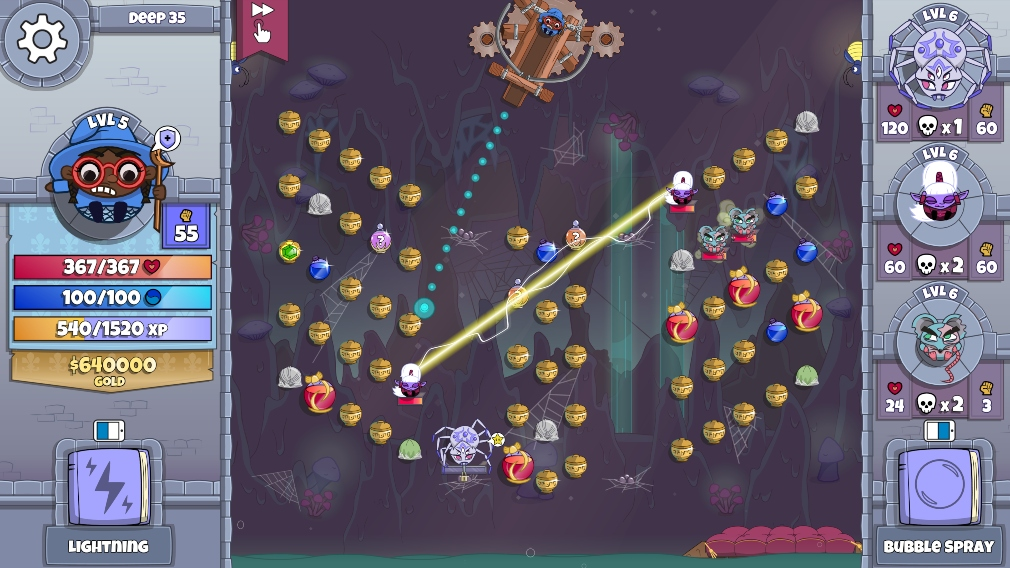 Roundguard is the latest game to arrive for Apple Arcade, bringing some pinball meets roguelike action to the service