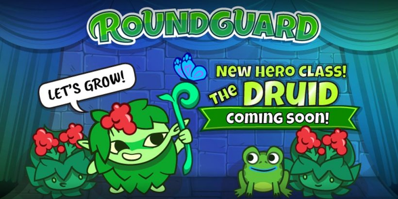 Roundguard adds new hero Sprig into the roguelite dungeon crawler with Druid Update on June 24