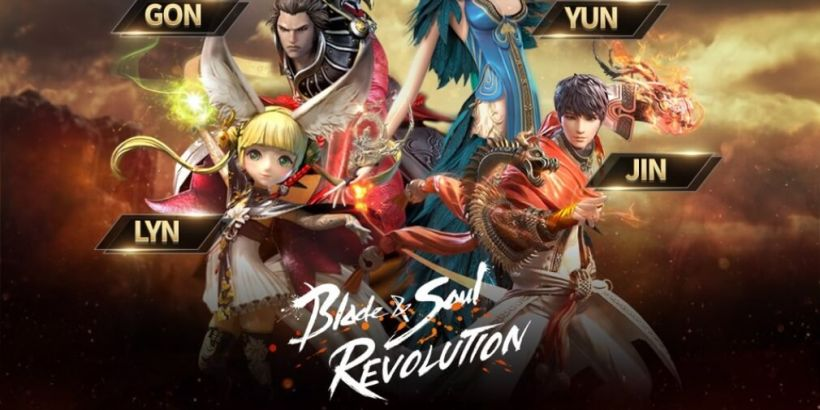 Blade & Soul Revolution, Netmarble's upcoming open-world RPG, is now available to pre-register for iOS and Android