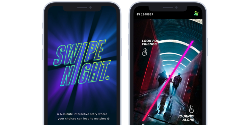 Swipe Night, Tinder's apocalyptic adventure game, has its international launch pushed back due to coronavirus