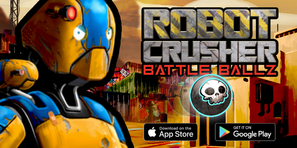 5 reasons why you should give Sci-Fi pinball game Robot Crusher Battle Ballz a try