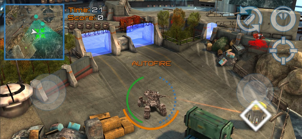 Reflex Unit 2 is an action game with fast-paced mech warfare that's available now for iOS and Android