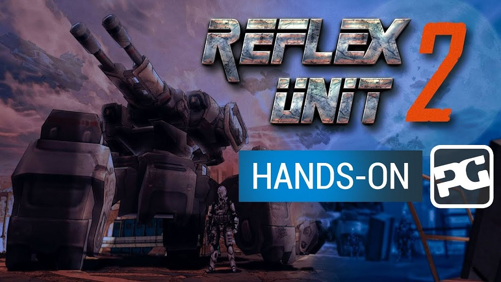 "Reflex Unit 2 gameplay video - ""Mech mayhem across multiple platforms"""