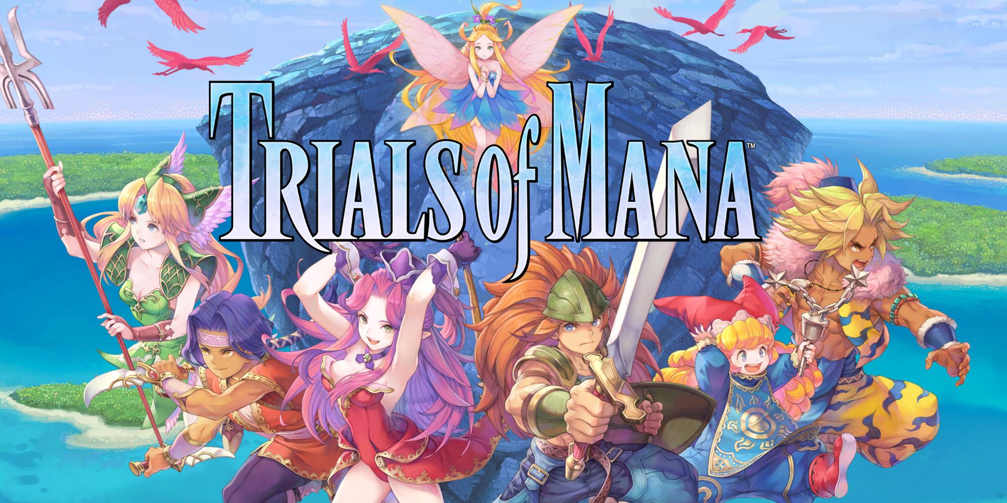 Trials of Mana de Square Enix s'offre une démo avant son lancement le mois prochain