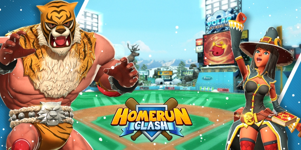 Homerun Clash's latest update introduces a new stadium, skills, gear, and more
