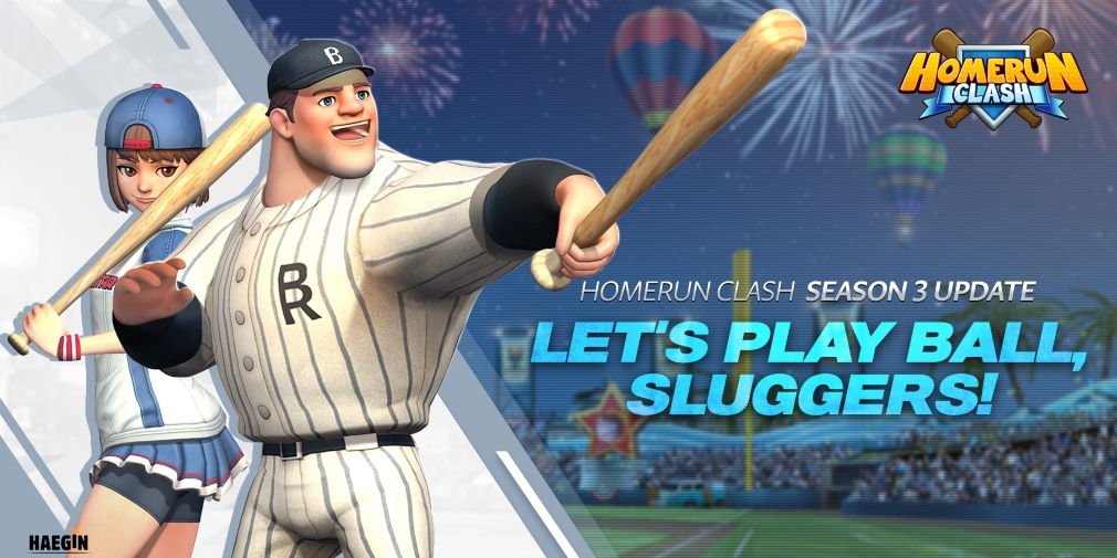 Homerun Clash's season three update introduces a new game mode and batter to the popular sports title