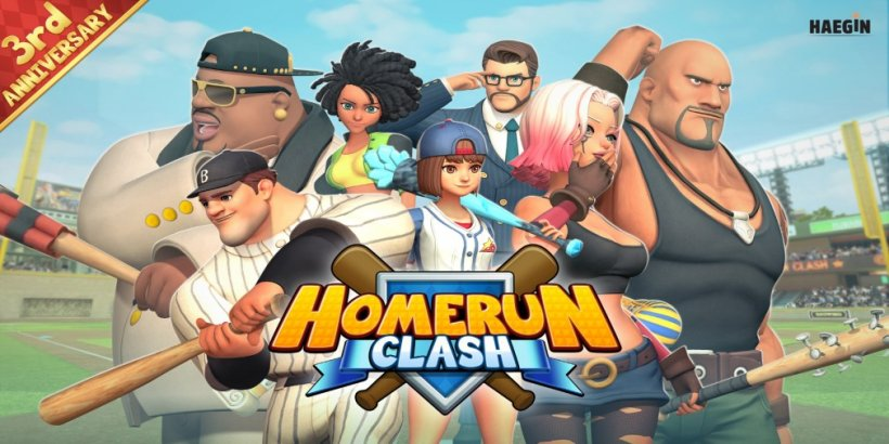 Homerun Clash is celebrating three years with a major update for players