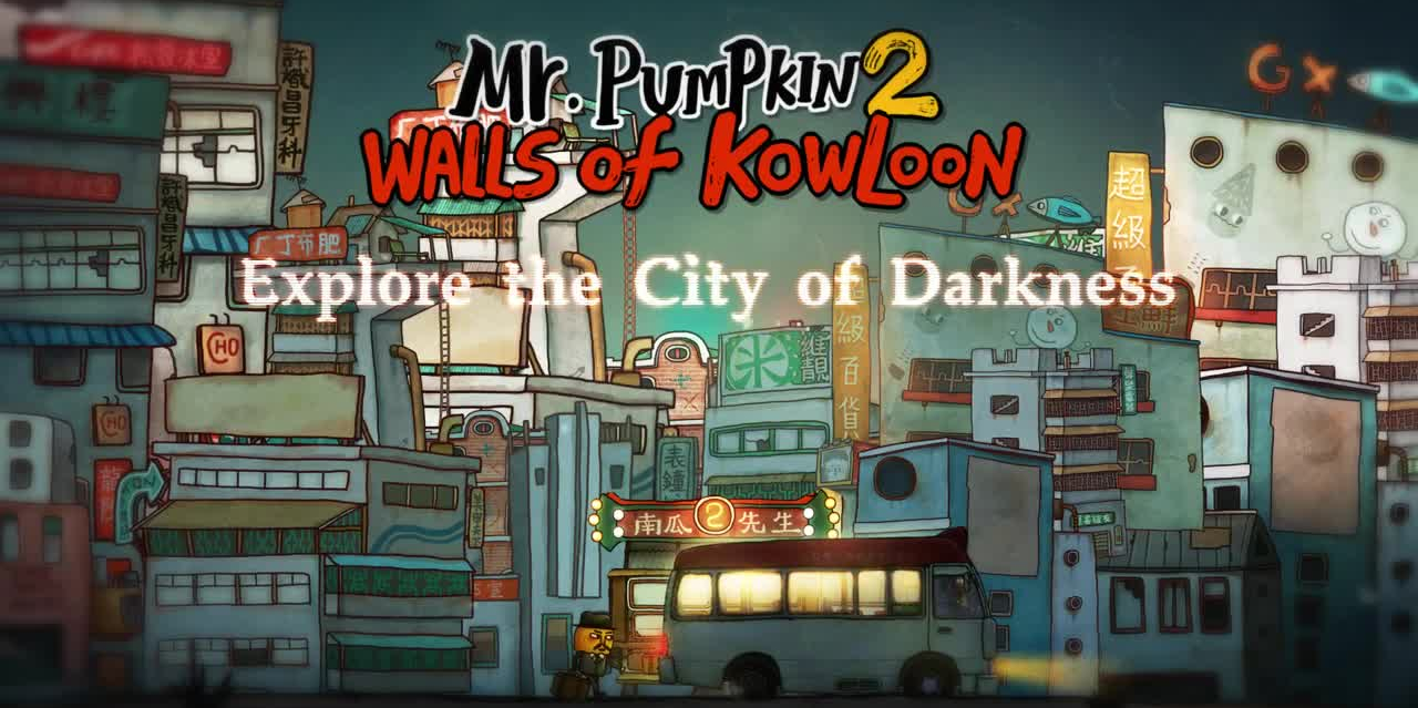Mr. Pumpkin 2: Walls of Kowloon launches early for Android, hits iOS tomorrow