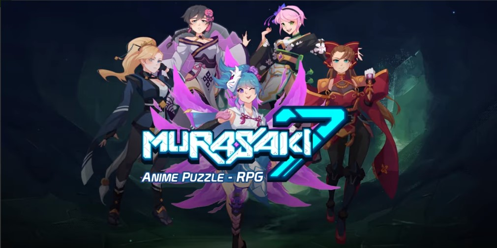 Puzzle RPG Murasaki7 is now available for iOS and Android