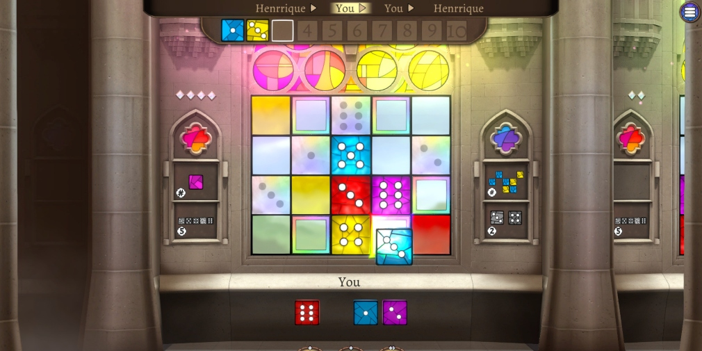 Sagrada, a digital adaptation of the popular dice-drafting board game, launches for iOS and Android
