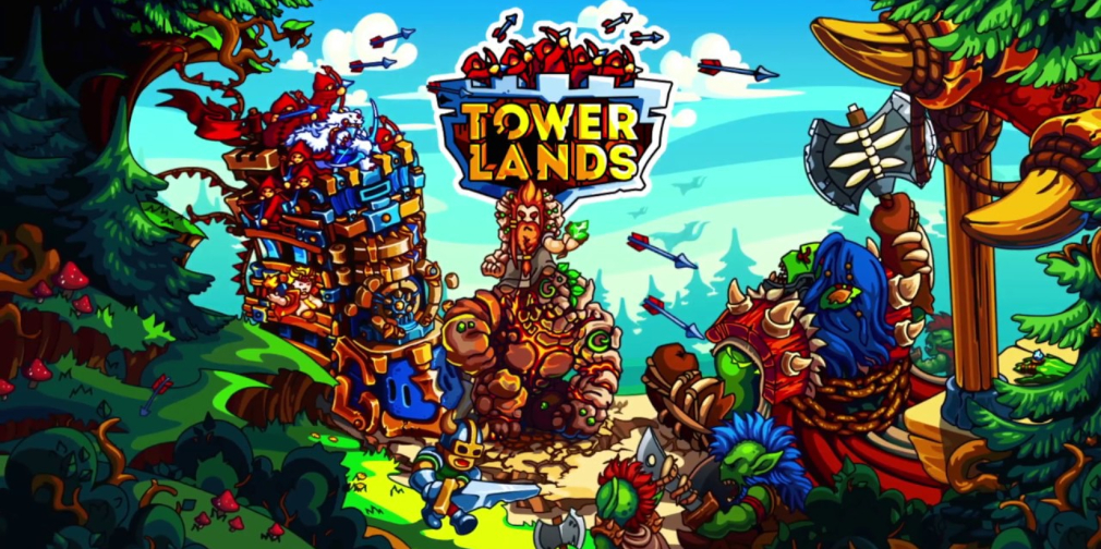 Towerlands, a tower defence RPG, makes its way to iOS and Android