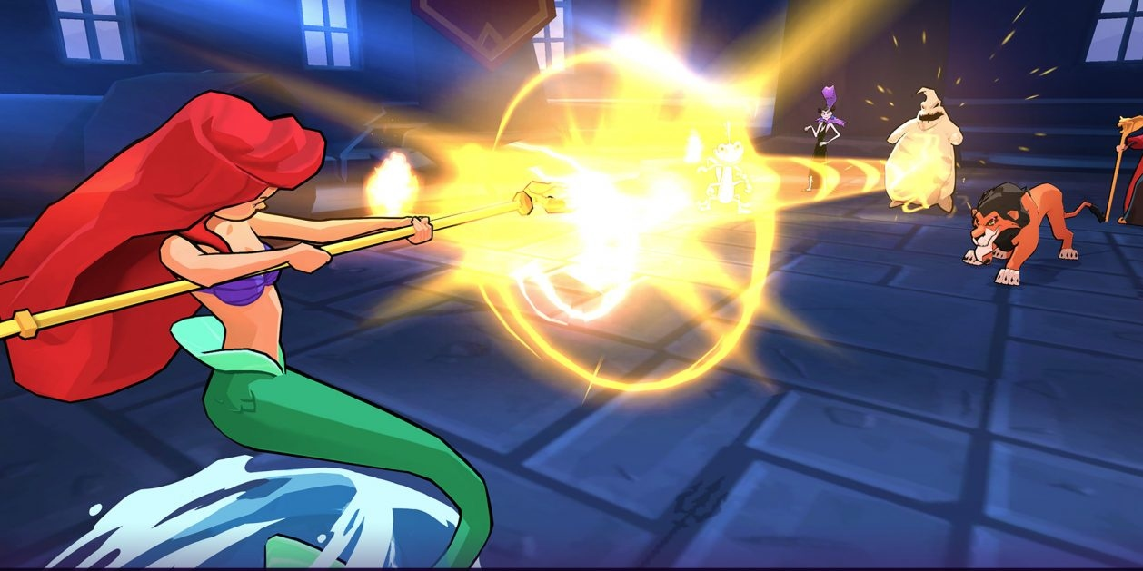 Disney Sorcerer's Arena is a turn-based gacha RPG that's available now for iOS and Android