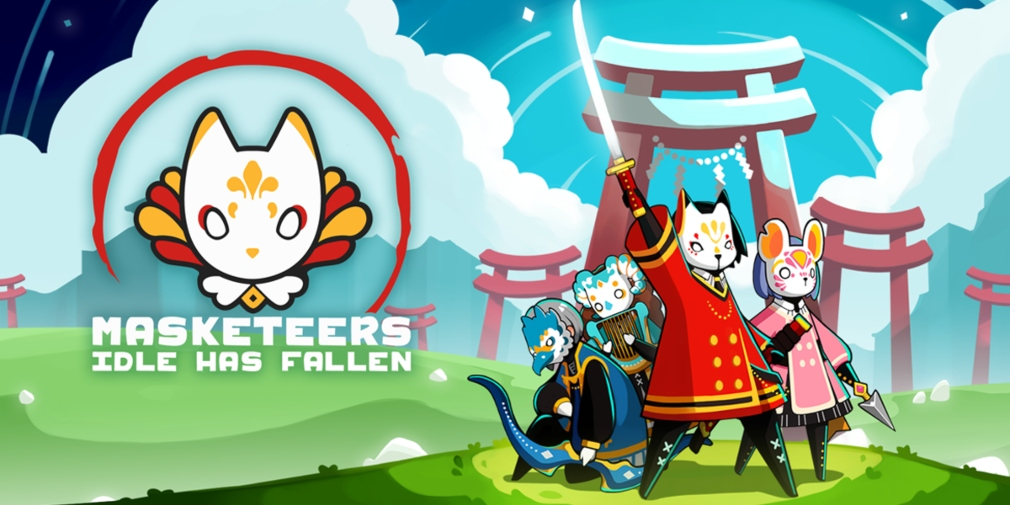 Masketeers: Idle Has Fallen is an upcoming idle RPG for iOS and Android about drawing power from mysterious masks