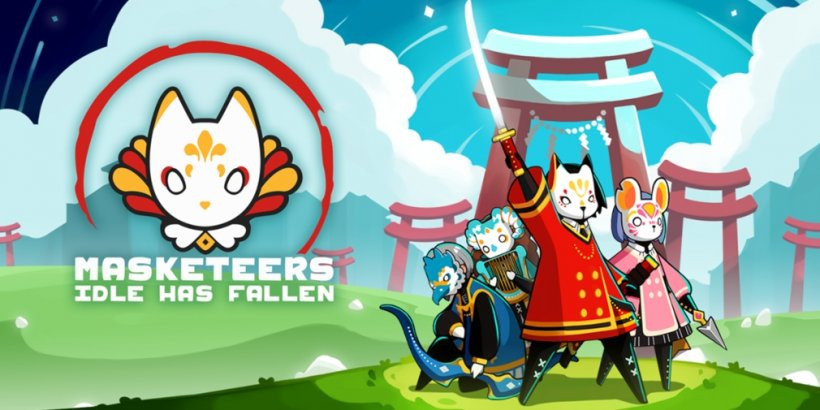 Masketeers: Idle Has Fallen is available to pre-register now for iOS and Android