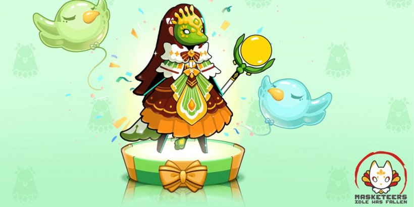 Masketeers: Idle Has Fallen celebrates Nightingale's birthday with new costume set and special birthday quests