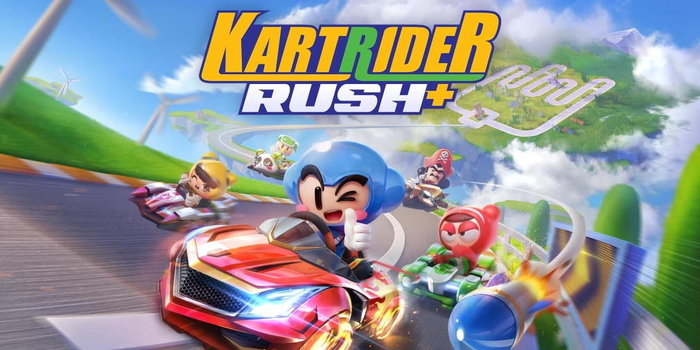 KartRider Rush+, Nexon's highly anticipated racer, is available now for iOS and Android