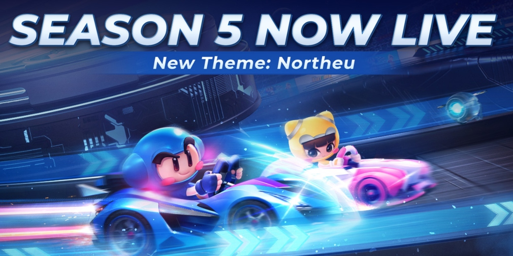 KartRider Rush+ has hit season 5, Northeu, which sees the racer head into space