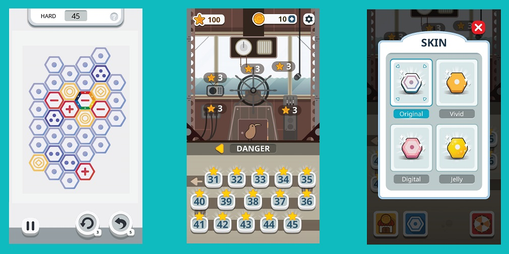 Make One is an ingenious, award-winning puzzler for Android