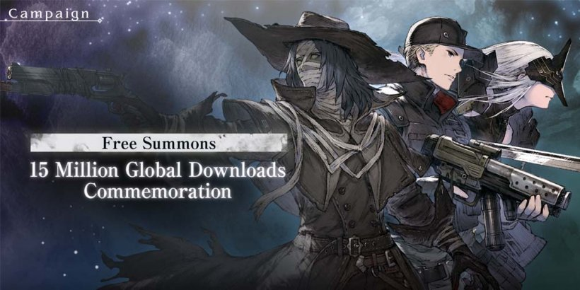 NieR Re[in]carnation is celebrating 15 million downloads with free summons and a daily login event
